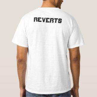 Poet Reverts Team Shirt( Black on White) T-Shirt
