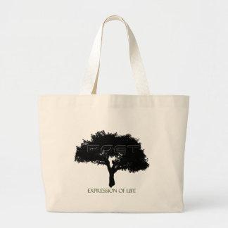 Poet-Tree Canvass Jumbo Tote Bag