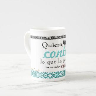 poetic cup bone china mug
