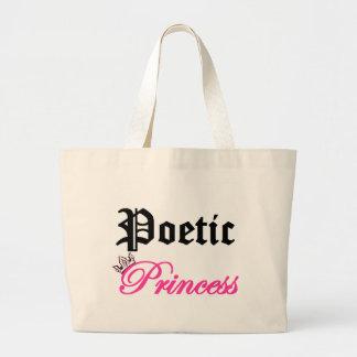 Poetic Princess Jumbo Tote Bag