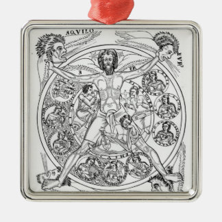 Poetry and Music Christmas Ornament