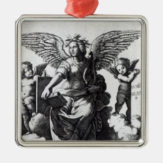 Poetry, c.1515 christmas ornament