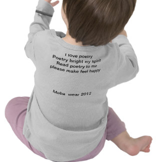 Poetry for kids tshirts