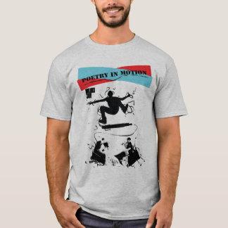 Poetry in motion saluki grey design T-Shirt