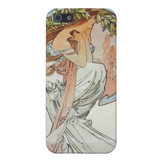 Poetry, Mucha iPhone 5 Covers