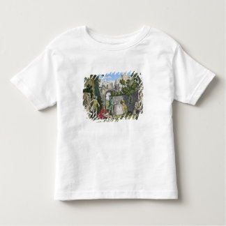 Poetry, pub. by Robert Sayer (fl.1750-80) c.1750 ( Toddler T-Shirt