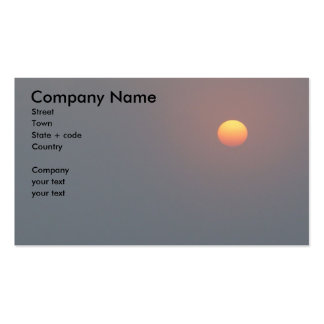 Poetry - Rising Sun Pack Of Standard Business Cards