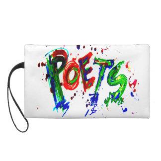 poets wristlet clutch