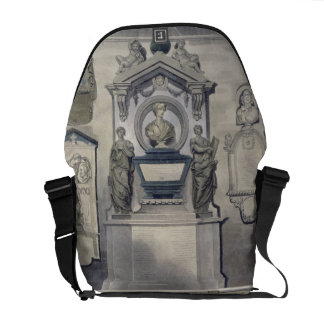 Poets' Corner, plate F from 'Westminster Abbey', e Commuter Bag