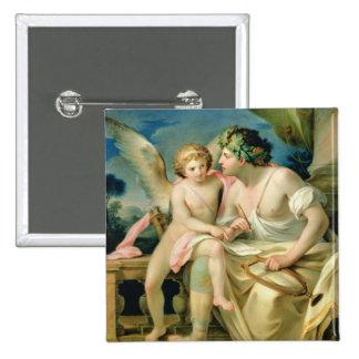 Poet's Inspiration, 1785 15 Cm Square Badge