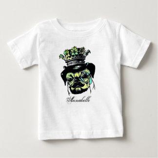 Pog Dog - Aqua Graphic Illustration Baby T-Shirt