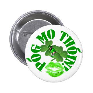 Pog mo thoin 6 cm round badge