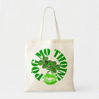 Pog mo thoin canvas bag