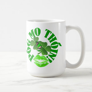 Pog mo thoin basic white mug
