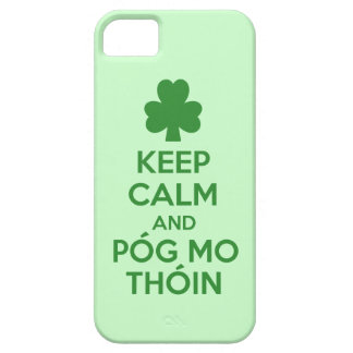 Pog mo thoin case for the iPhone 5