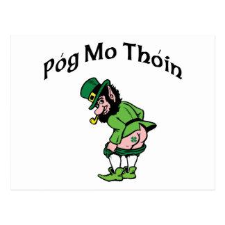 Pog Mo Thoin Gift Postcard