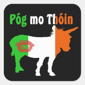 Pog Mo Thoin - Irish Humor Square Sticker