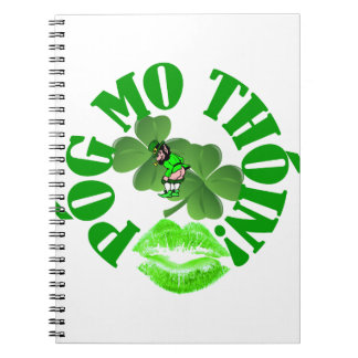 Pog mo thoin spiral notebook