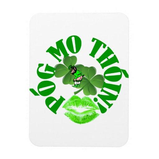 Pog mo thoin vinyl magnets