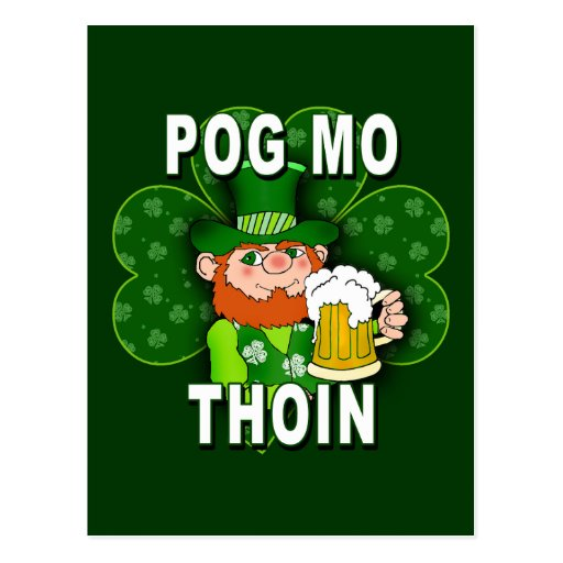 POG MO THOIN Tshirts and Products Postcards