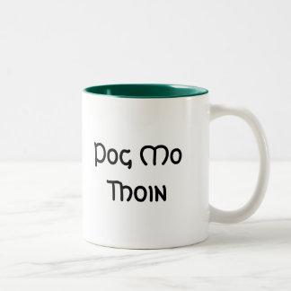 Pog Mo Thoin Two-Tone Mug