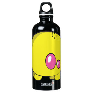 Pogo O.o Yellow Custom Water Bottle