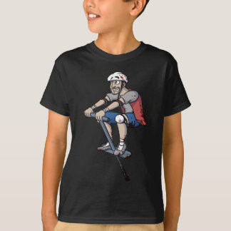 Pogo Stick Guy - Happy Wheels T-Shirt