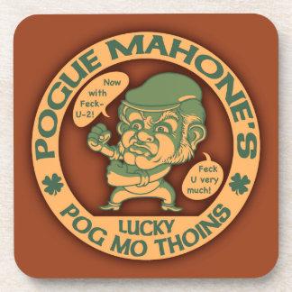 Pogue s Lucky Thoins Coasters