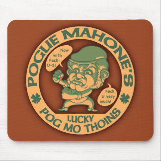 Pogue s Lucky Thoins Mouse Pads