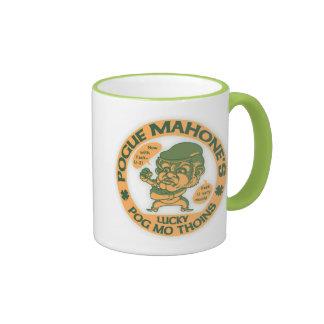 Pogue's Lucky Thoins Coffee Mug