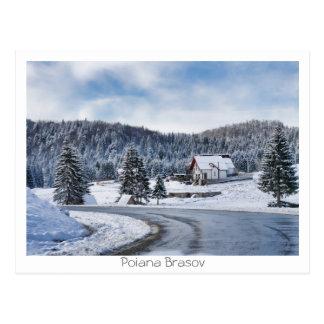 Poiana Brasov Postcard