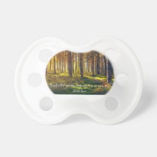 Poignant Betrand Russell Quote Pacifier