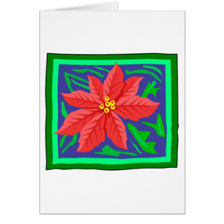 Poinsetta Greeting Cards