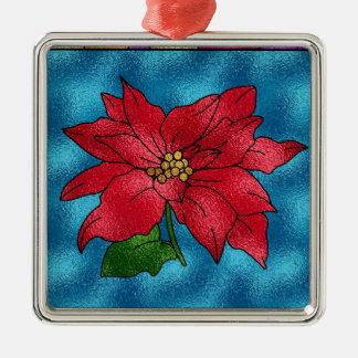 Poinsetta Christmas Ornaments