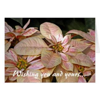 Poinsetta Fair Greeting Card