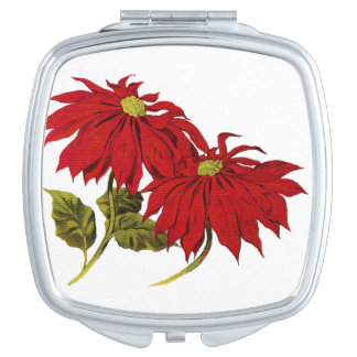Poinsetta Mirror For Makeup