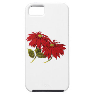 Poinsetta Tough iPhone 5 Case