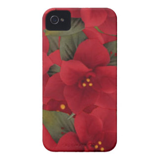 Poinsettia Christmas BlackBerry Bold Case