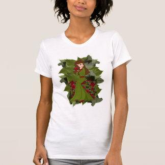Poinsettia Christmas Faery Shirt