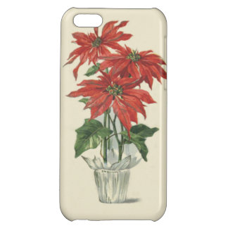 Poinsettia Christmas Plant iPhone 5C Covers
