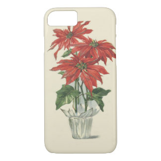 Poinsettia Christmas Plant iPhone 7 Case