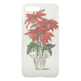 Poinsettia Christmas Plant iPhone 7 Plus Case