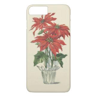 Poinsettia Christmas Plant iPhone 7 Plus Case