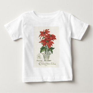 Poinsettia Christmas Plant Tees