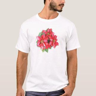 Poinsettia Christmas Star transparent PNG T-Shirt