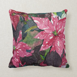 Poinsettia Cushion