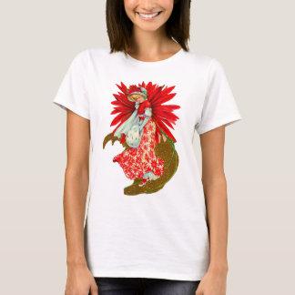 Poinsettia Girl T-Shirt