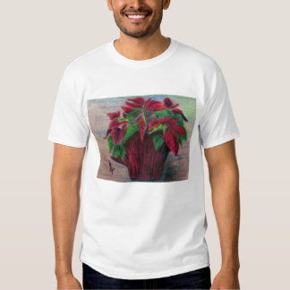 Poinsettia Girls T-shirt