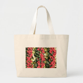 Poinsettia Large Tote Bag