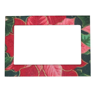 Poinsettia Magnetic Frame